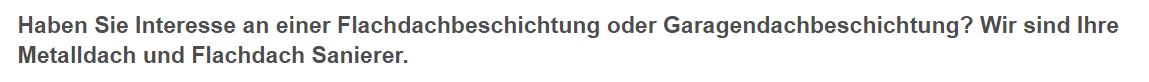 Garagendachbeschichtung in  Saarland